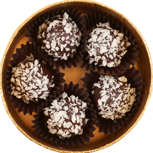 Gold Collection Coconut Cream Chocolate Truffles - Dylan's Candy Bar