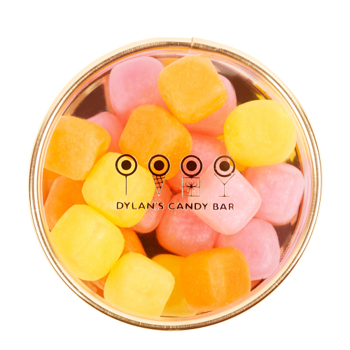Gold Collection Fruit-Flavored Chewy Cubes Tiny Treasures Box - Dylan's Candy Bar