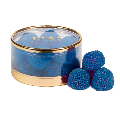 Gold Collection Blue Raspberry Munchies Tiny Treasures Box - Dylan's Candy Bar