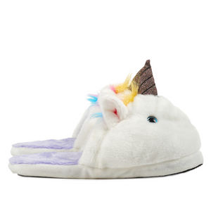 fuzzy-unicorn-slippers-youth-dylans-candy-bar