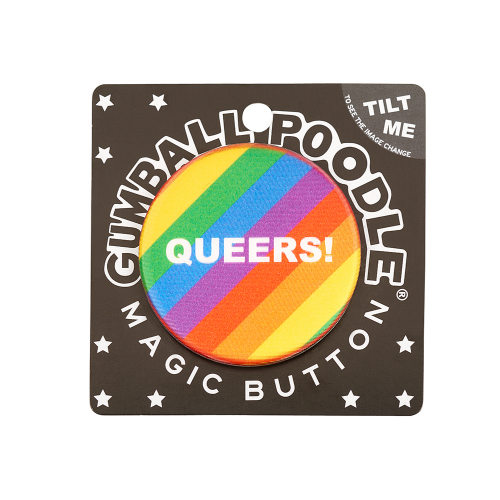 Cheers! Queers! Button - Dylan's Candy Bar