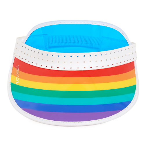 Retro Rainbow Visor - Dylan's Candy Bar