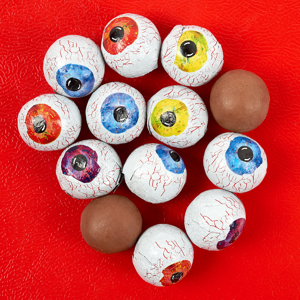 Crispy Chocolate Eyeballs - Dylan's Candy Bar