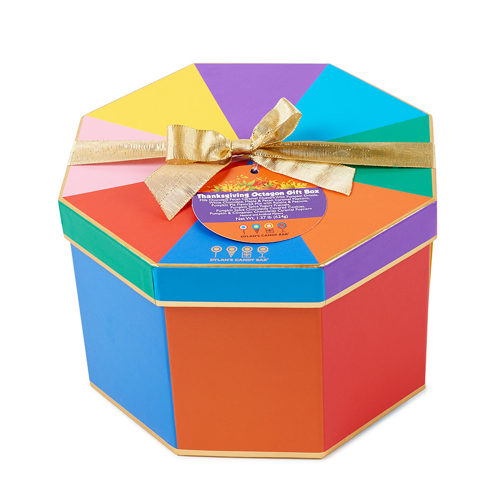 Happy Thanksgiving Octagon Box - Dylan's Candy Bar