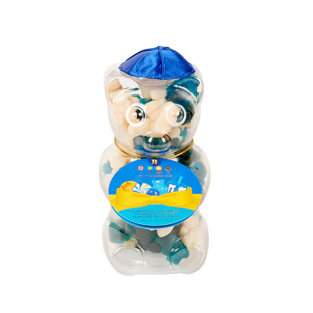 Happy Challah Days Hanukkah Mini Gummy Bear - Dylan's Candy Bar