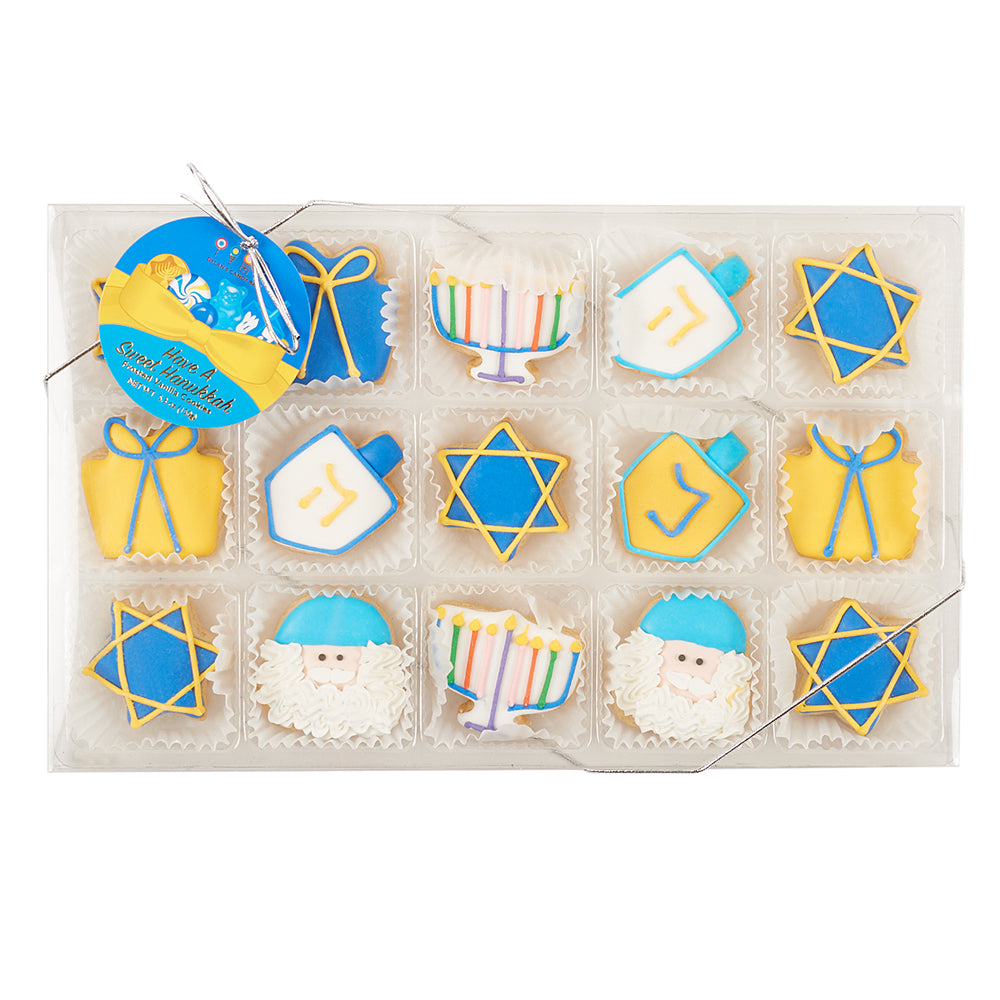 Hanukkah Petite Cookie Gift Set - Dylan's Candy Bar