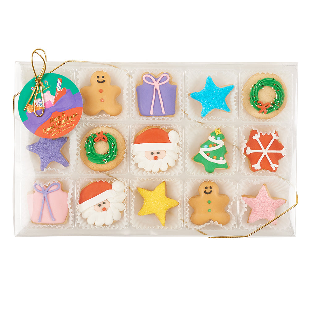Christmas Petite Cookies Gift Box - Dylan's Candy Bar