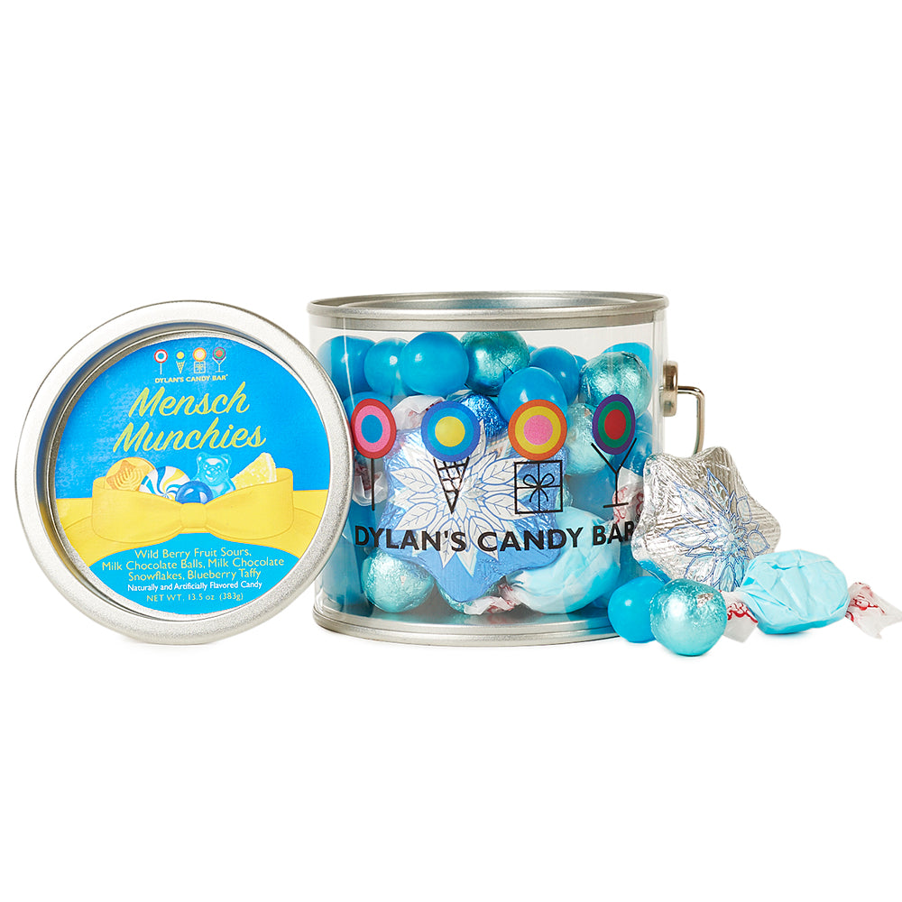 Mensch Munchies Hanukkah Paint Can - Dylan's Candy Bar
