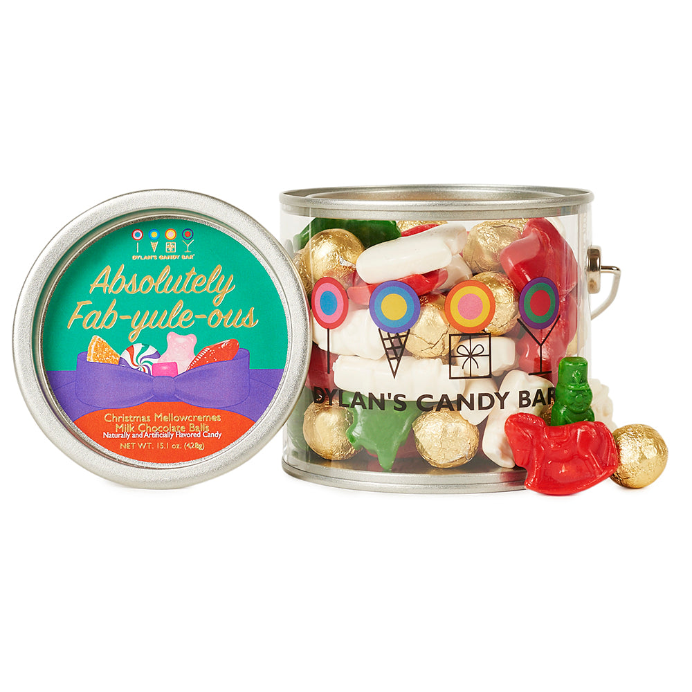 Absolutely Fab-yule-ous Christmas Paint Can - Dylan's Candy Bar