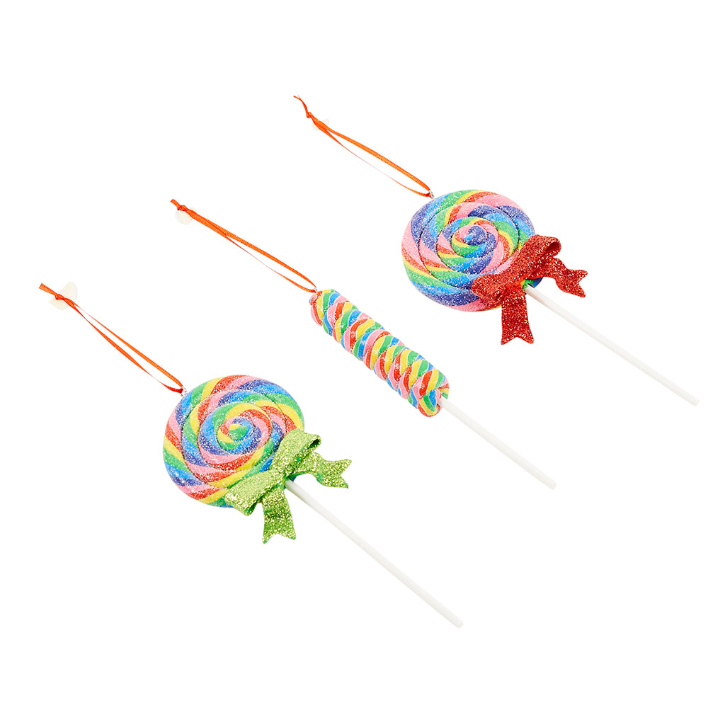 Lollipop Christmas Ornament - Dylan's Candy Bar