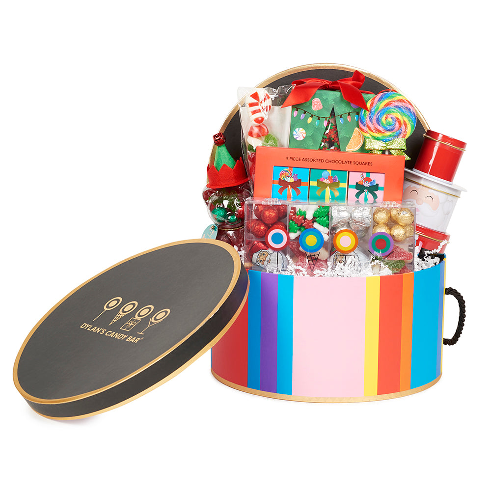 Christmas Cheer Small Hat Box - Dylan's Candy Bar