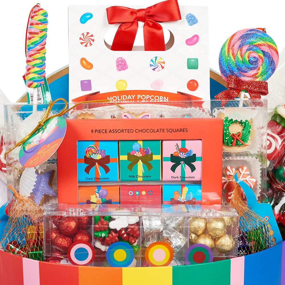 Christmas Extravaganza Large Hat Box - Dylan's Candy Bar
