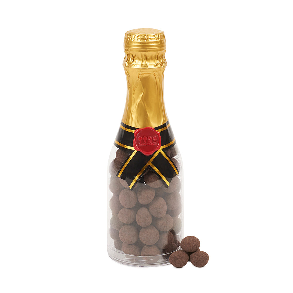 Champagne Bottle Filled with Cookie Crumb Bites - Dylan's Candy Bar