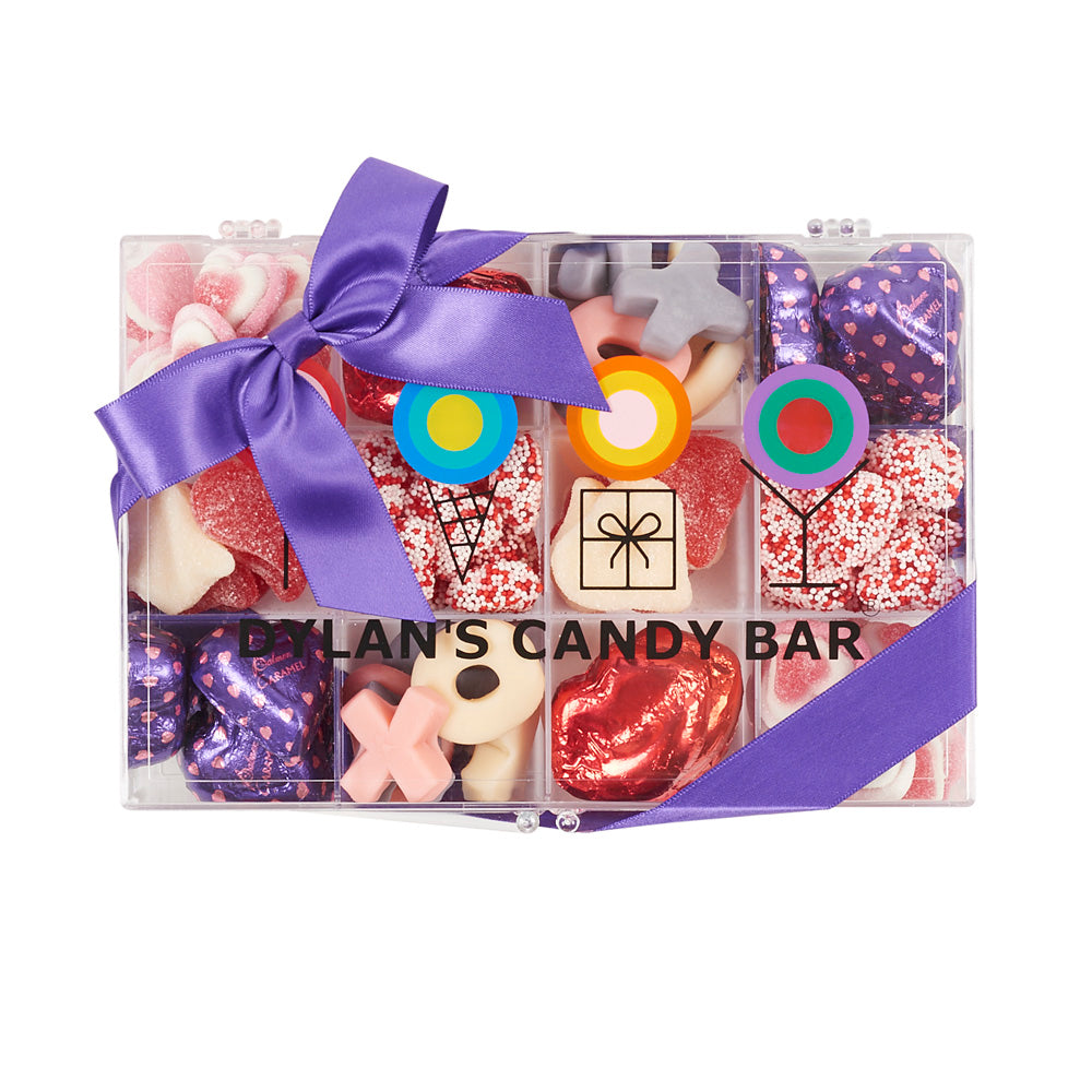 Valentine's Day Tackle Box - Dylan's Candy Bar