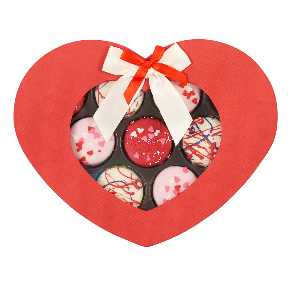 Sweet Heart Valentine's Day Chocolate-Covered Oreo Gift Box - Dylan's Candy Bar