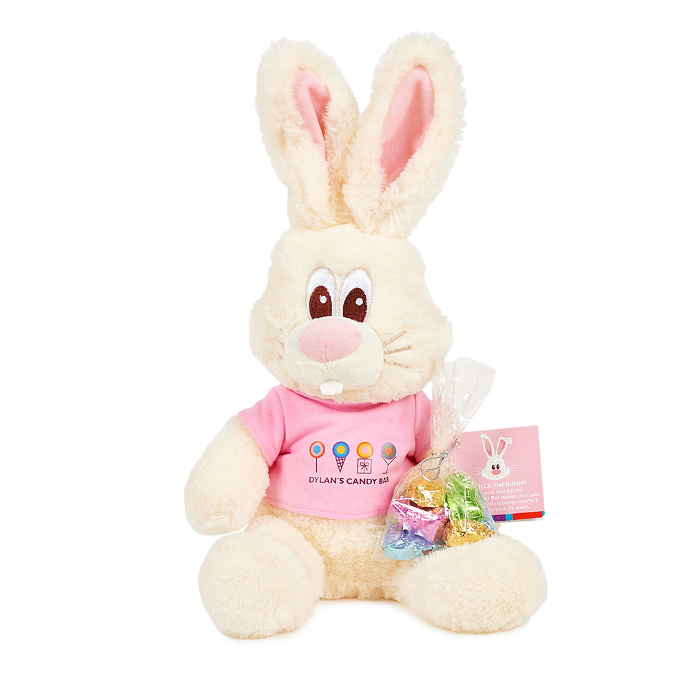 Vanilla the Bunny with Easter Treats - Dylan's Candy Bar