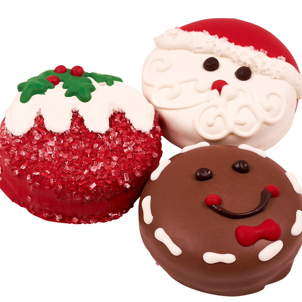Season's Treatings Chocolate-Covered Sandwich Cookie Set