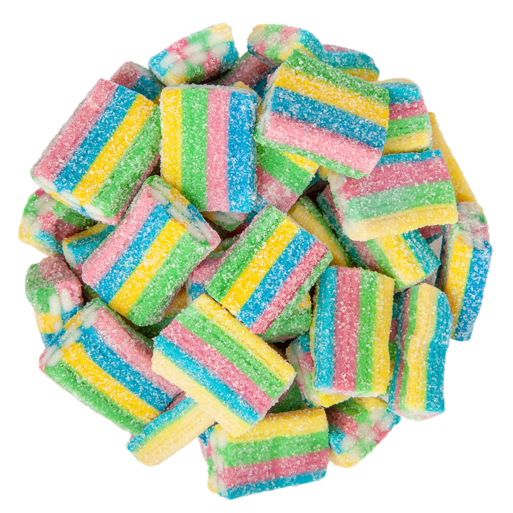 Sour Rainbow Bricks Bulk Bag