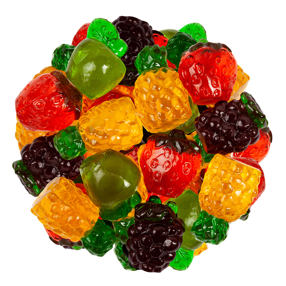 Gummy 3D Fruits Bulk Bag