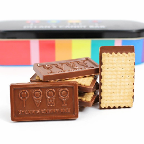 Belgian Chocolate Biscuit Tin - Dylan's Candy Bar