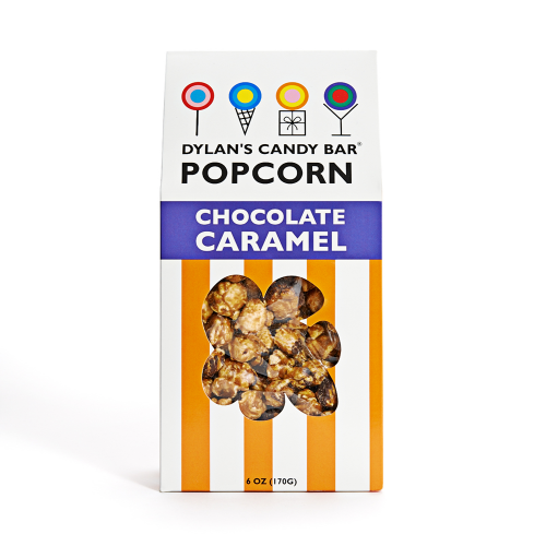 Chocolate Caramel Popcorn - Dylan's Candy Bar
