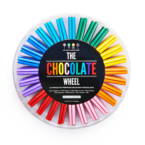 Signature Chocolate Wheel - Dylan's Candy Bar