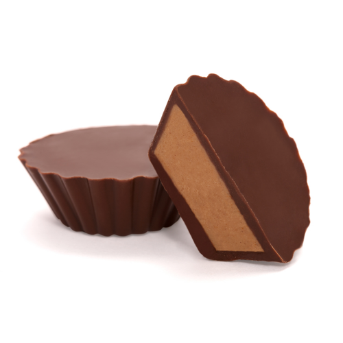 Milk Chocolate Peanut Butter Truffle Cups - Dylan's Candy Bar