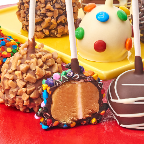 Belgian Chocolate Dipped Cake Pops - Dylan's Candy Bar