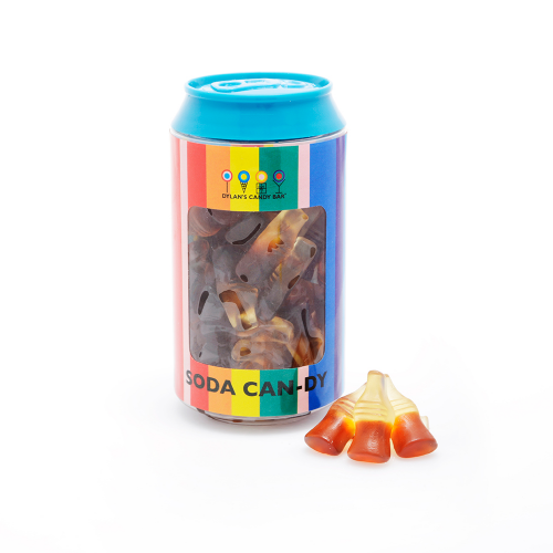 Gummy Cola Bottles Soda Can - Dylan's Candy Bar