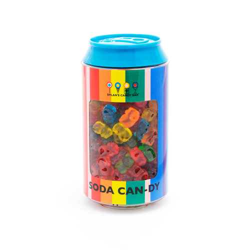 Mini Gummy Bears Soda Can - Dylan's Candy Bar