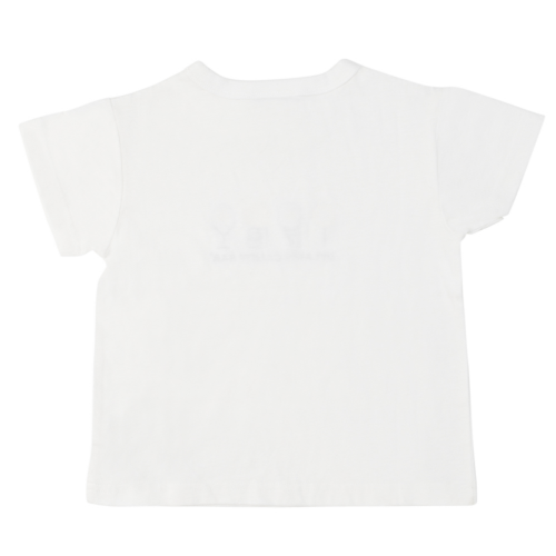 White Short Sleeve Dylan's Candy Bar Logo Tee (Toddler) - Dylan's Candy Bar