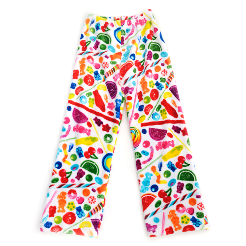 Fuzzy Candy Spill Pants (Youth) - Dylan's Candy Bar