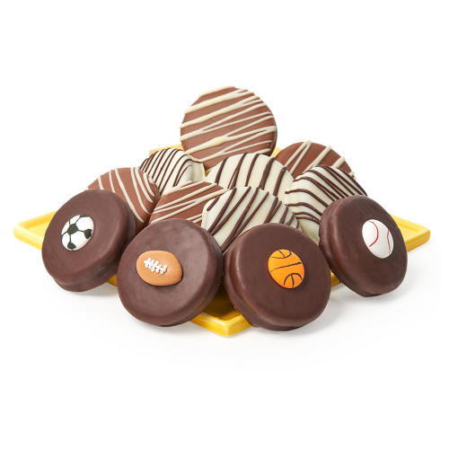 Belgian Chocolate Covered Sports Oreos - Dylan's Candy Bar