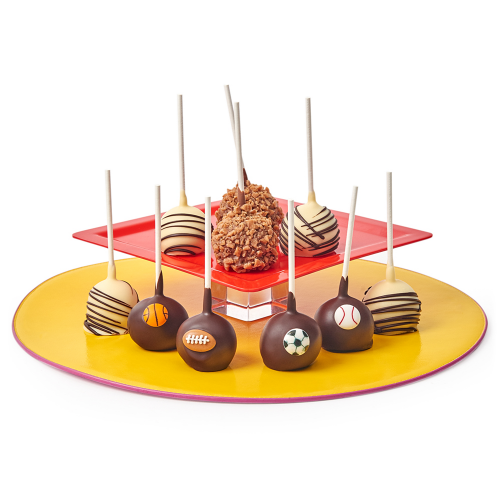 Belgian Chocolate Covered Sports Cake Pops - Dylan's Candy Bar