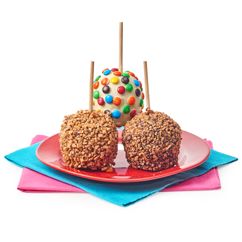 Belgian Chocolate Covered Caramel Apples - Dylan's Candy Bar