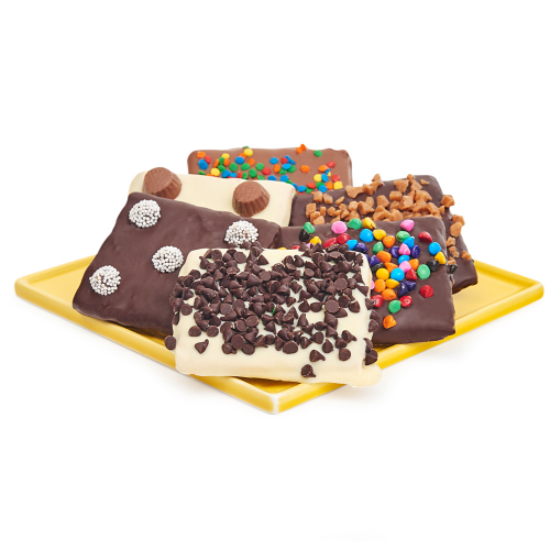 Belgian Chocolate Covered Graham Crackers - Dylan's Candy Bar