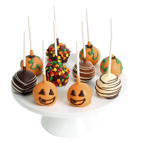 Halloween Belgian Chocolate-Covered Cake Pops - Dylan's Candy Bar