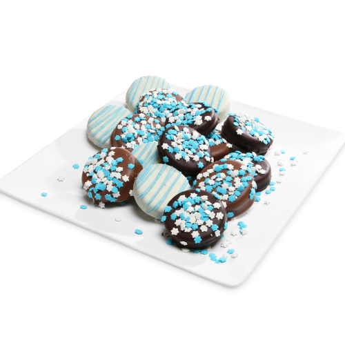 Chocolate-Dipped Hanukkah Oreo® Gift Box - Twelve