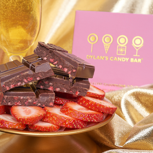 Gold Collection Strawberry Champagne Infusion Bar - Dylan's Candy Bar