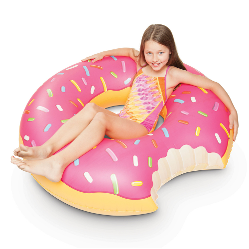 Oversized Donut Pool Float - Dylan's Candy Bar