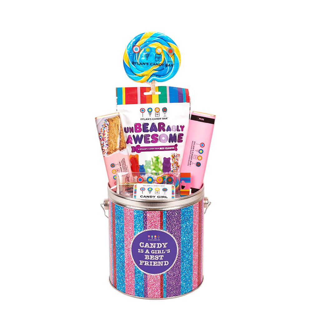 Candy Is A Girl's Best Friend Bucket