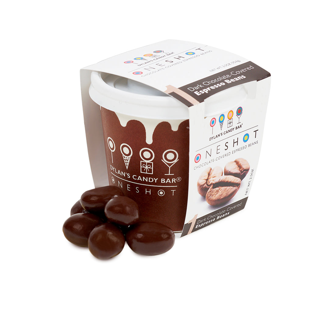 One Shot Dark Chocolate Covered Espresso Beans