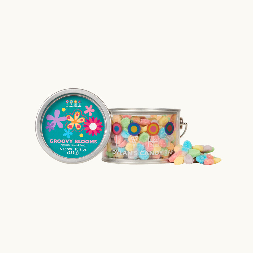 Groovy Blooms Half Paint Can - Dylan's Candy Bar