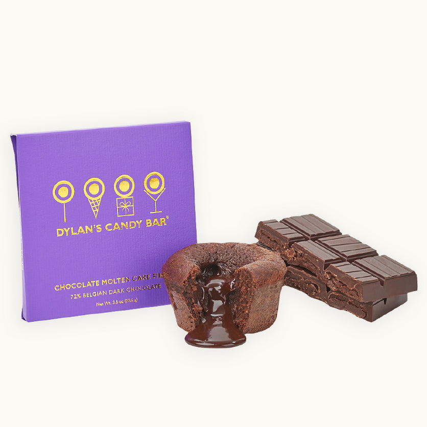 Gold Collection Chocolate Molten Cake Filled Bar - Dylan's Candy Bar