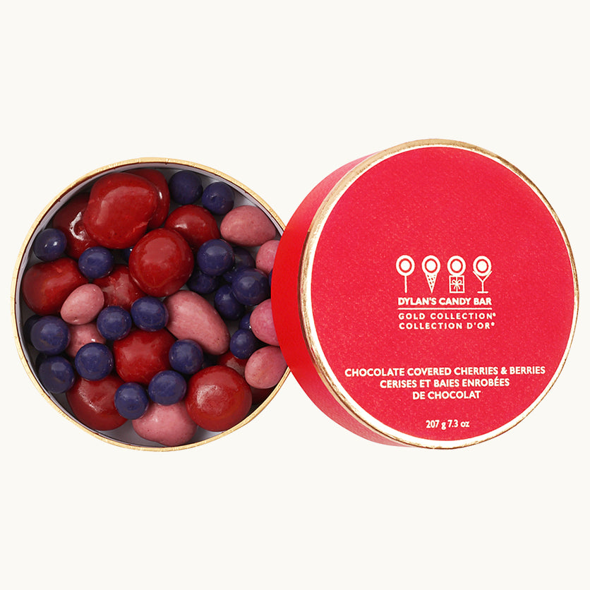 Gold Collection Chocolate Covered Cherries & Berries - Dylan's Candy Bar