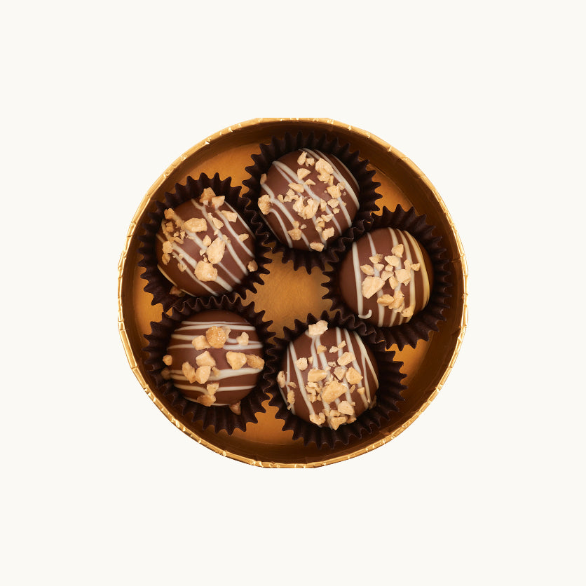 Gold Collection Creme Brulee Chocolate Truffles - Dylan's Candy Bar