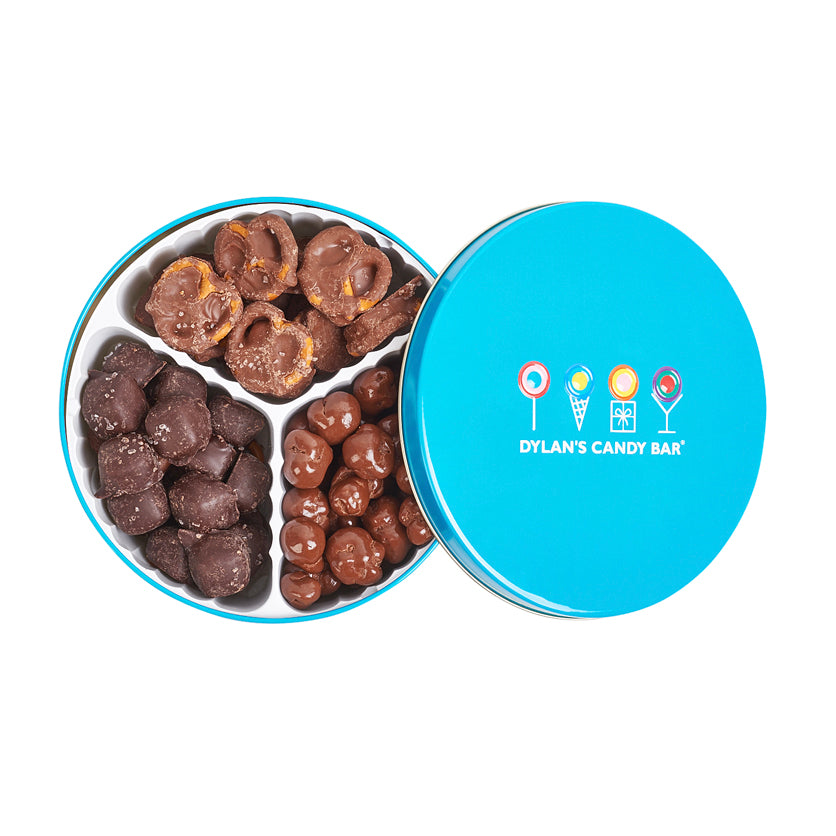Milk Chocolate Trio Tin - Dylan's Candy Bar