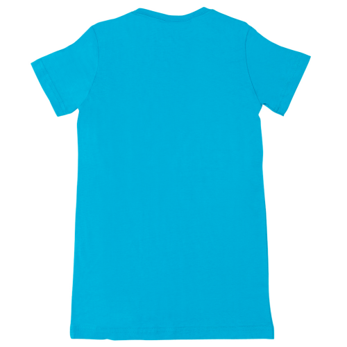 Turquoise Dylan's Candy Bar Short Sleeve Logo Tee - Women's - Dylan's Candy Bar