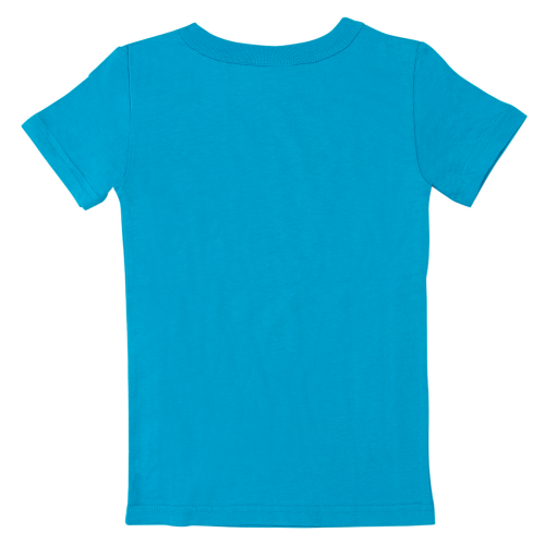 Turquoise Dylan's Candy Bar Short Sleeve Logo Tee - Youth - Dylan's Candy Bar