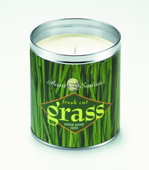 Fresh Cut Grass Scented Candle by Aunt Sadie's